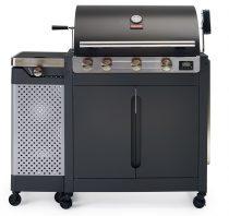 grill gazowy z koszem na butle barbecook quisson,