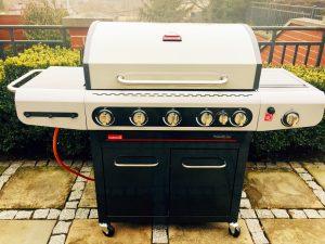 Siesta 612 gazowy grill Barbecook